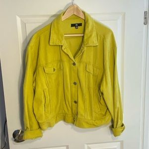 Missguided Bright Green Jacket